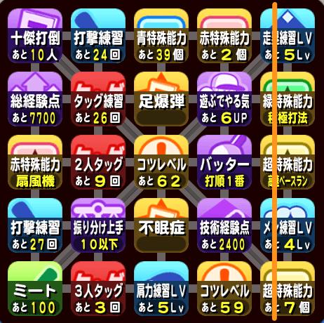 大阪オンライン予選のビンゴ9